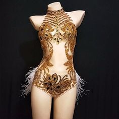 Stage Outfits, Dance Outfits, Cheap Dance Costumes, Dance Stage, Bar Dance, Dj Stage, Look Festival, Long Sleeve Leotard, Mesh Bodysuit
