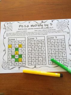 Multiplication games no prep longest line by games 4 learning - this collec Teaching Multiplication, Teaching Math, Teaching Ideas, Math Resources, Math Activities, Math Worksheets, Third Grade Math, Fourth Grade, Math Workshop