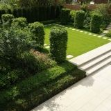 Ways to incorporate uneven lawn