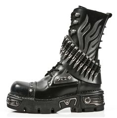 rebelsmarket_new_rock_shoes_black_leather_boots_with_silver_flames_and_bullets_boots_8.jpg