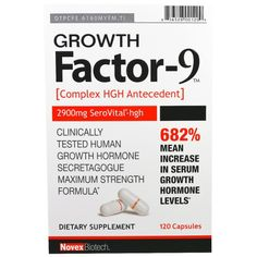 Novex Biotech, Growth Factor-9, 120 Capsules