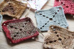 Návod na základní háčkovaný čtverec (granny square) Crochet Bikini, Blanket, Beads, Kos, Tutorials, Decor, Beading, Decoration, Bead
