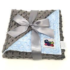 Reversible Unisex Children's Soft Baby Blanket Minky Dot ... https://www.amazon.com/dp/B01HGMKUGI/ref=cm_sw_r_pi_dp_x_3.PyybD63F1AS