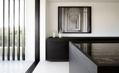 Black and white contrasts. the Balmoral House by Redgen Mathieson. Photo by Romello Pereira.