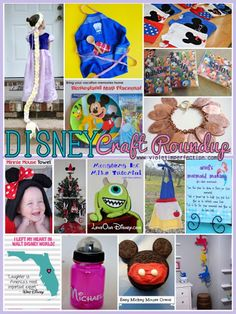 Violet Imperfection: Disney Craft Roundup