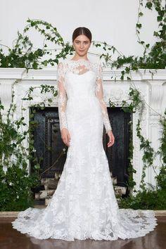 Monique Lhuillier Bridal Fall 2018 Fashion Show Collection