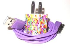 Plenty and Good iPhone Charger with Personality with Color USB Cable