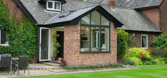 Replace your Conservatory Roof with a Solid Tiled Roof and transform your Conservatory into a comfortable living space. Now available throughout Hampshire. Garden Room, House Design, Bungalow Extensions, House, Garden Room Extensions, House Exterior, Conservatory Extension, Conservatory Design, Roof Extension