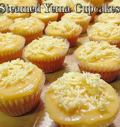 This Steamed Yema Cake Recipe is tried and tested by Mama's Guide friends. Just like the best seller Yema Cake you buy from Laguna. And the yema frosting is so heavenly delish. Pinoy Dessert, Filipino Desserts, Filipino Recipes, Pinoy Food Filipino Dishes, Filipino Appetizers, Cuban Recipes, Asian Desserts, Mini Desserts, Yema Cake Recipe