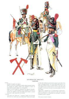 Dragones zapadores a caballo 1800-1815