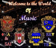 Music fraternities and sorority! Kappa Kappa Psi, Alpha Sigma Alpha, Sorority Gifts, Sorority And Fraternity, Moon Over Miami, Ucf Knights, The Fab Four, College Fun, Greek Life