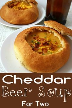 Cheddar Beer Soup is a creamy, comforting beer cheese soup. This small batch recipe is perfect and warming for a cool fall or winter lunch, dinner or soup course. It is easy and quick, ready in just 30 minutes. It also makes and impressive date night meal Mug Recipes, Lunch Recipes, Breakfast Recipes, Cooking Recipes, Cooking Pork, Easy Cooking, Cooking Tips, Dinner Recipes, Healthy Recipes