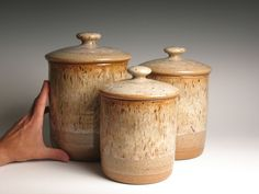 stoneware canisters - Google Search