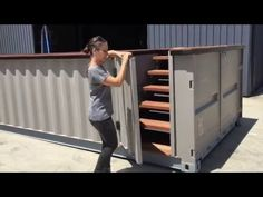 Robust Pools Shipping Container Pool - YouTube