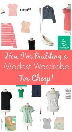 How I'm Building a Modest Wardrobe for Cheap!