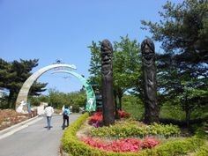 """Welcome to Haeshindang Park (해신당 공원), unofficially known as """"Penis Park."""" 