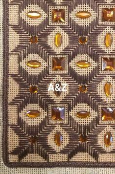 Metal Flower Wall Art, Metal Flowers, Needlework, Diy And Crafts, Fabrics, Stamp, Embroidery, Handmade, Straight Stitch