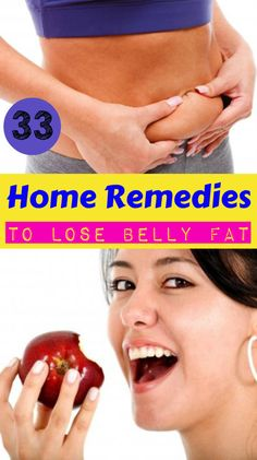 33 Home Remedies to Lose Belly Fat