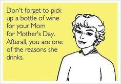 Sorry Mum!