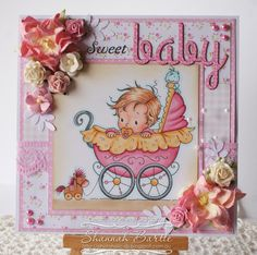 Whimsy Stamps card by Shannah Bartle using 'Wee One' by Wee Stamps Collection.