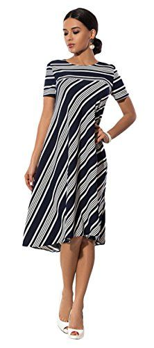 b6289c5bcc8 Mariage Cocktail Cérémonie Jupe Tunique Crayon Robe élégant Fête Dress  Taille empire été Femme