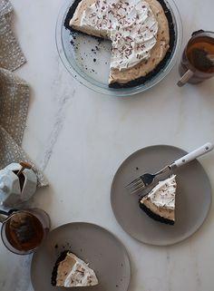 Peanut Butter Cream Pie | www.acozykitchen.com