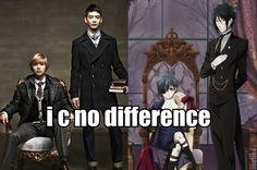 Taemin n minho.....the black butler