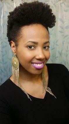 How To Style Short Natural Hair Short Natural Hair With Headband  Headbands  Pinterest  Short