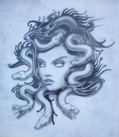 Tattoos on pinterest kid name tattoos capricorn tattoo and medusa