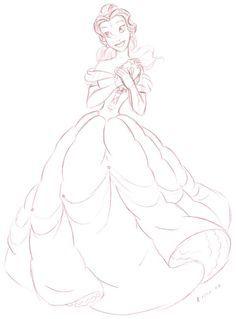 Belle ~ La Belle et La Bête✨✨✨ ~ ❤️ {Disney} ❤️