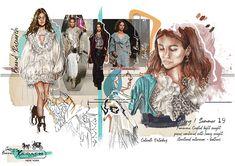 Jasmine Bennett — Northumbria Fashion Illustration Mode, Fashion Illustration Sketches, Fashion Sketches, Dress Sketches, Drawing Fashion, Fashion Portfolio Layout, Fashion Design Sketchbook, Portfolio Ideas, Uni Fashion