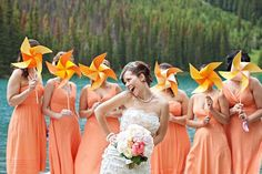 pinwheel wedding bouquet Top 10 Wedding Bouquet Alternatives