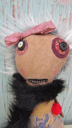 Carmen Handmade Art Doll