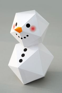 My 6 favourite Christmas Origami and Paper Craft projects for Christmas Tree, star, diamond,jewel,snowman and more! 3d Paper Crafts, Paper Toys, Diy Paper, Paper Crafting, Diy Crafts, Origami Paper, Christmas Origami, Christmas Paper, Christmas Tree