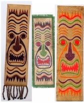 Tiki Tapa Bookmarks Craft that goes beyond the standard piece of paper. Also makes a good introduction to the life and culture of the Island peoples. www.freekidscrafts.com