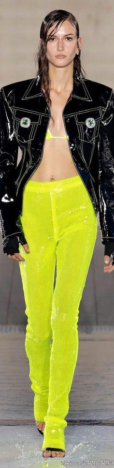 David Koma, Pretty Dresses, Boss, Spring Summer, Yellow, Style, Fashion, Yellow Black, Woman