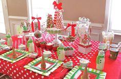 decorar-mesa-navidad niños