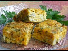 Frittata di carciofi ricetta facile e veloce - YouTube