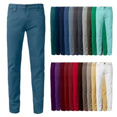 Premium solid denim with regular waist size and light stretch. Color match stitching throughout. Skinny Fit Jeans, Zip Ups, China, Mens Fashion, Denim, Color Pants, People, Bye Bye, Shopping