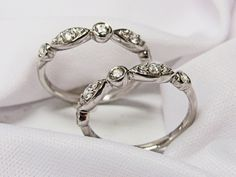 New styles of amazing wedding bands now available in store from our Bridal Collection! more info at www.huntvalleyjewelers.com