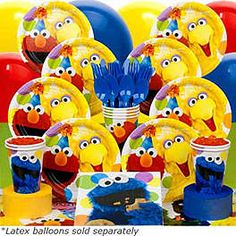 SESAME STREET BIRTHDAY DELUXE KIT - parties at the Center for Puppetry Arts, Atlanta, GA