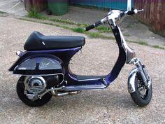 Vespa scooter cutdown