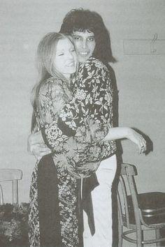 Mary Austin & Freddie Mercury