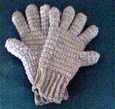 Crocheted Gloves Pattern