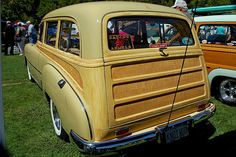 Chevy Tin Woodie