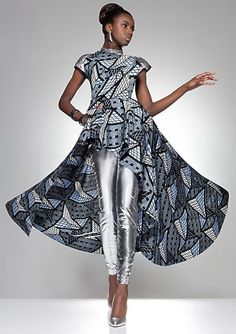 Something about this that I just love..... Edgy, Cool, Unexpected combo... LOVE it!