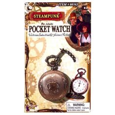 Adult Copper Steampunk Pocket Watch