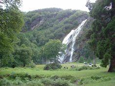 Powerscourt Waterfall - Wikipedia, the free encyclopedia