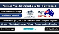 Scholarships For College Students, Undergraduate Scholarships, Passport Services, International Scholarships, Study Tips, Masters, Awards, How To Apply, Australia