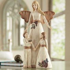Guardian Angel Figurine - Simple Spirits by Pavilion Gift Company